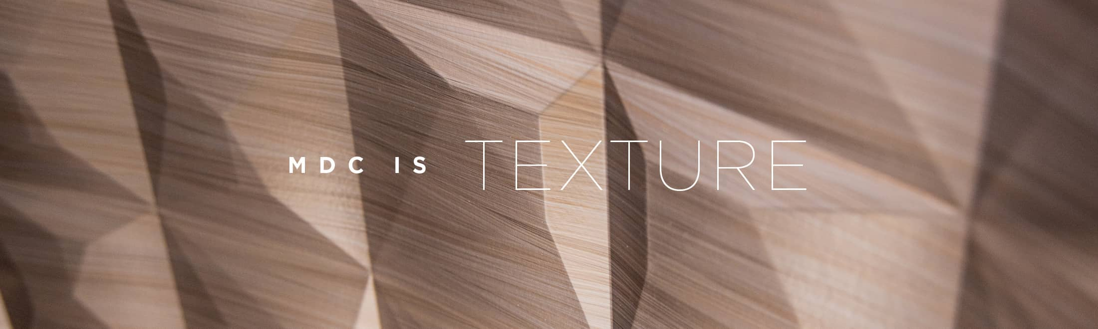 MDC is Texture